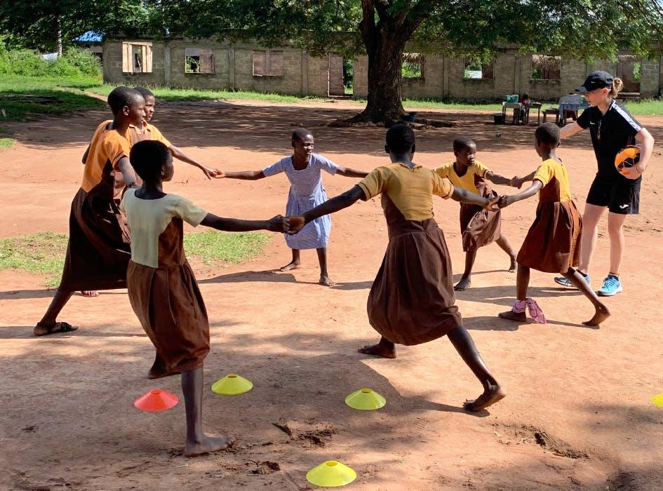 Sports Teaching Volunteer Project in Ghana - Accra Region