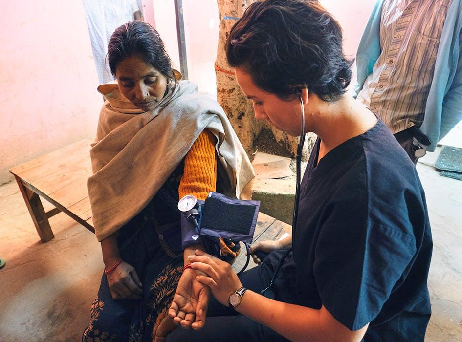 Medical Outreach Campaign in India - Delhi