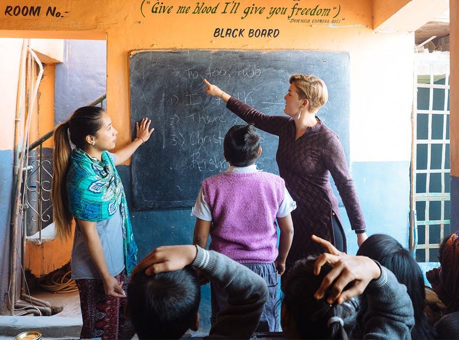 Slum Teaching Volunteer Program in India - Delhi