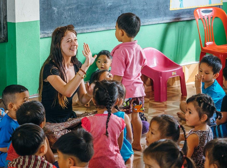 Childcare Volunteer Program in Laos - Honkau