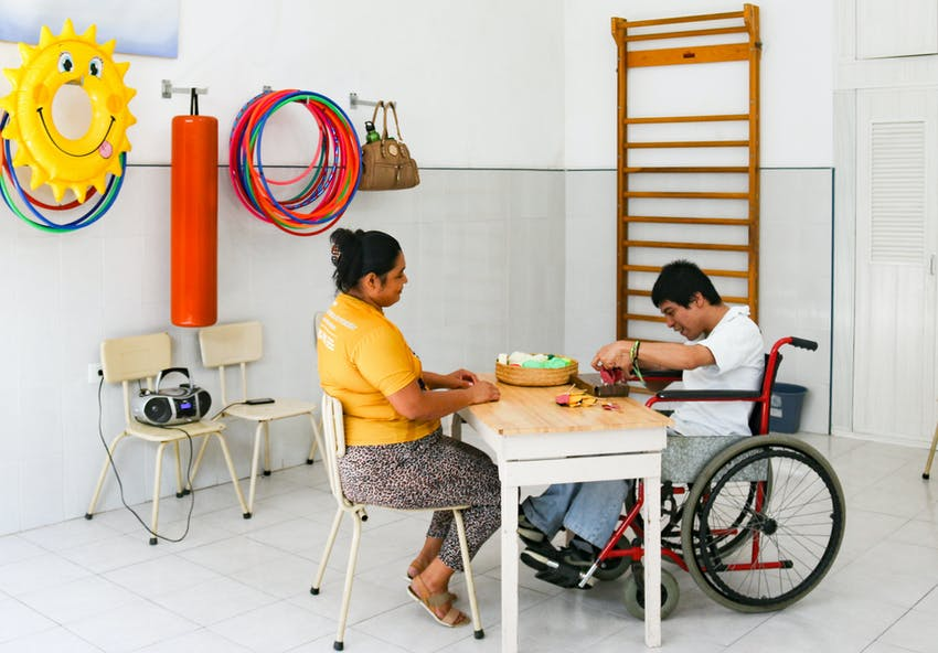 Special Needs Care volunteer in Mexico with IVHQ