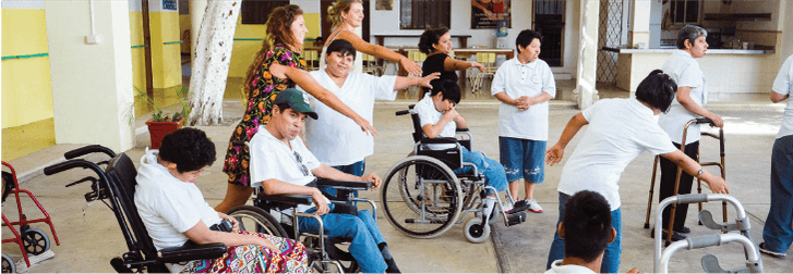 IVHQ Special Needs volunteers in Mexico