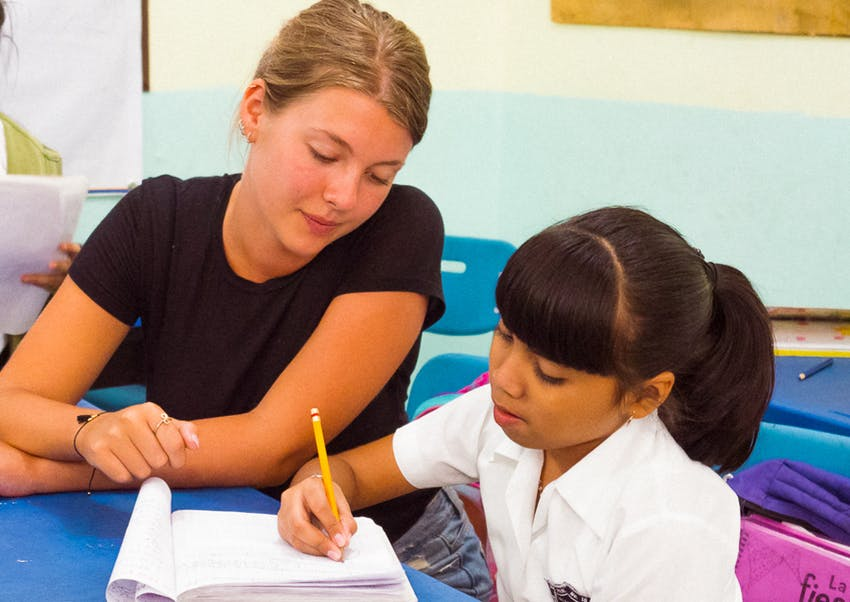 Teaching volunteer in Mexico with IVHQ
