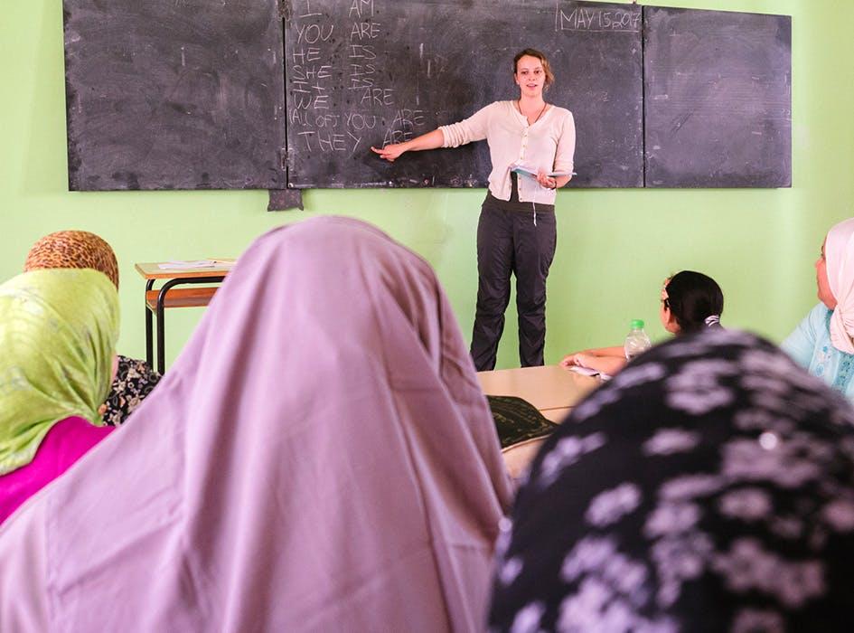 Women's Education Volunteer Program in Morocco