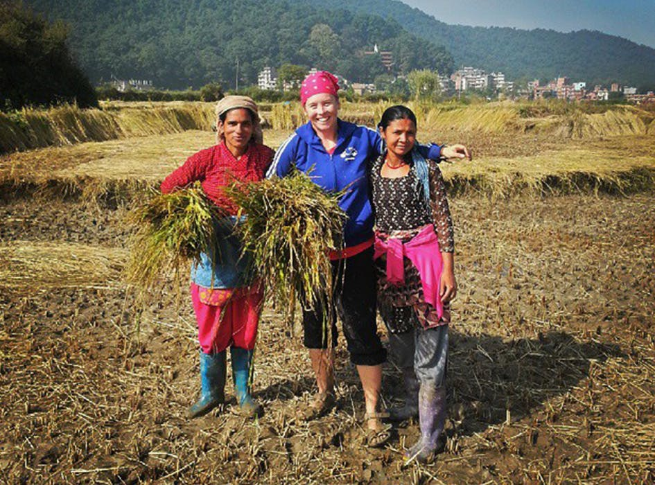 Sustainable Agriculture Volunteer Program in Nepal