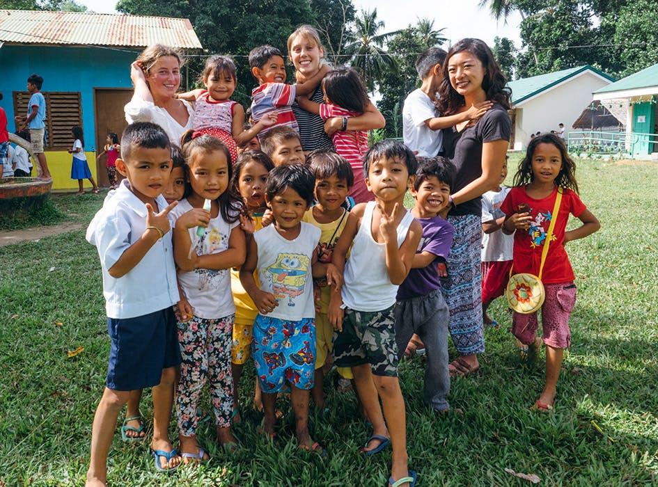 Kindergarten Volunteer Project in the Philippines - Palawan