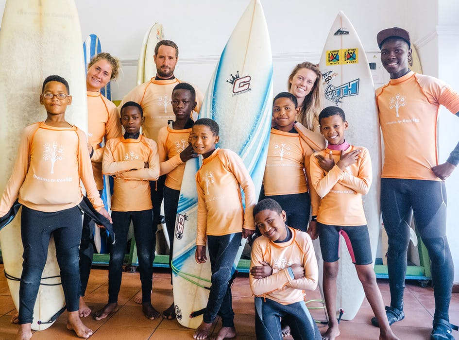 Surf Outreach Volunteer Project in South Africa - Cape Town