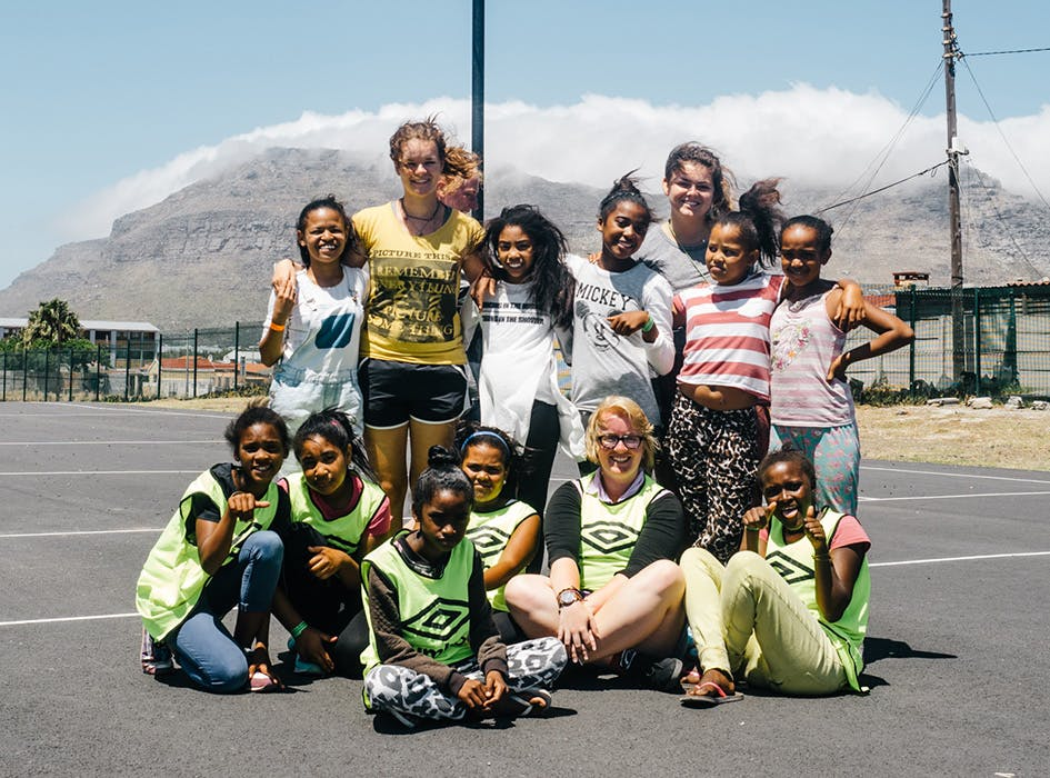 Sports Development Volunteer Project in South Africa - Table View