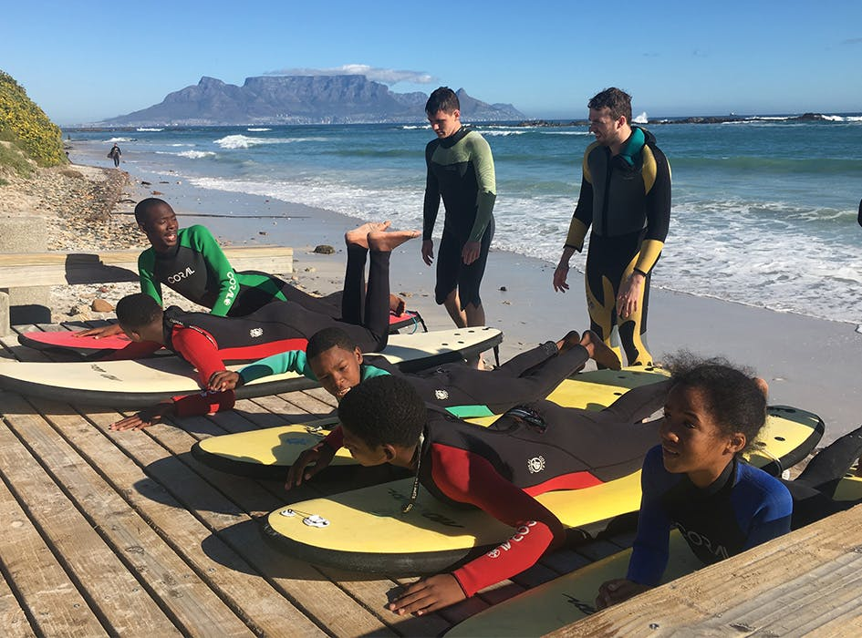 Surf, Skate and Swim Volunteer Project in South Africa - Table View