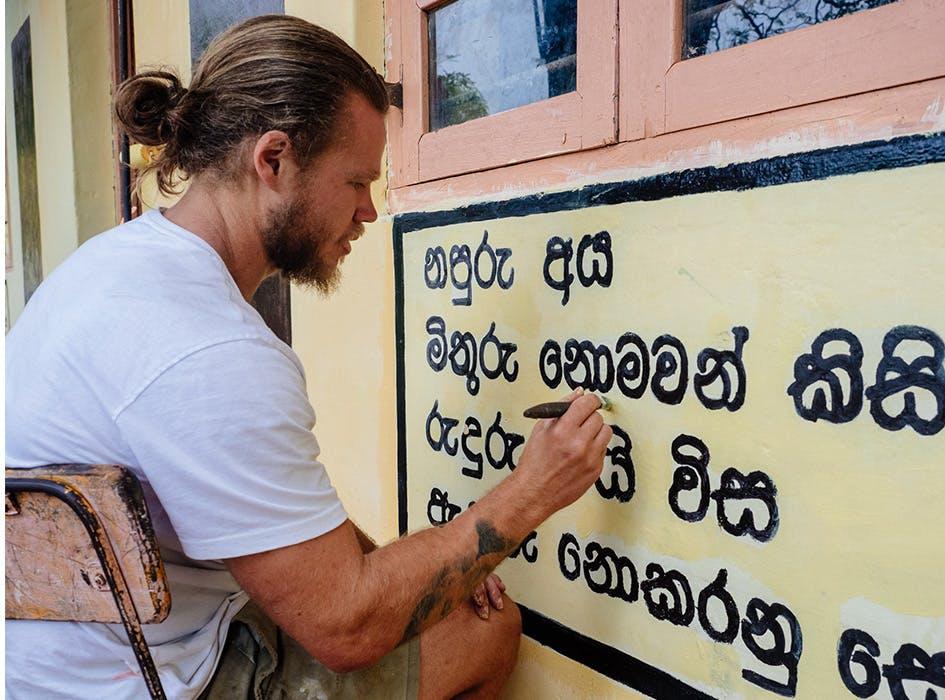 Construction and Renovation Volunteer Project in Sri Lanka