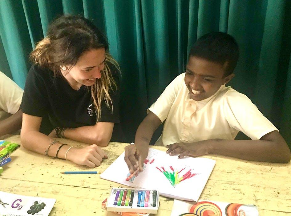 Special Needs Care Volunteer Program in Sri Lanka