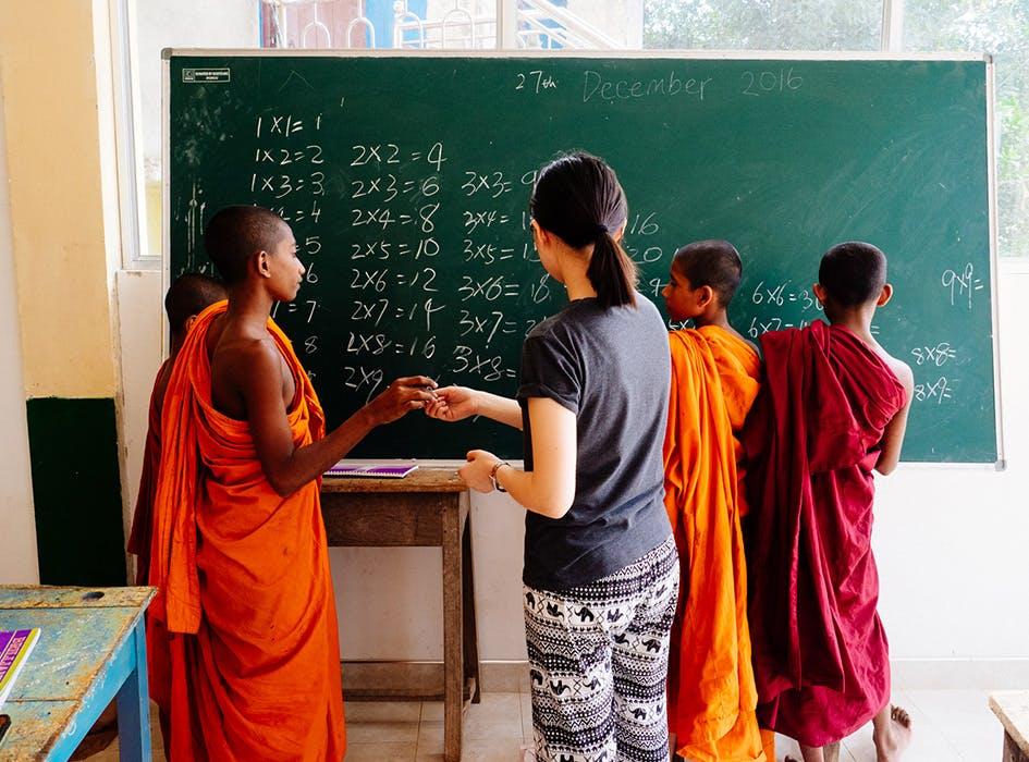 Teaching Volunteer Program in Sri Lanka