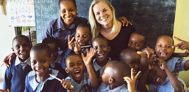 Volunteer on the Teaching project with IVHQ in Tanzania