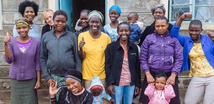 Volunteer on the Women's Education project with IVHQ in Tanzania