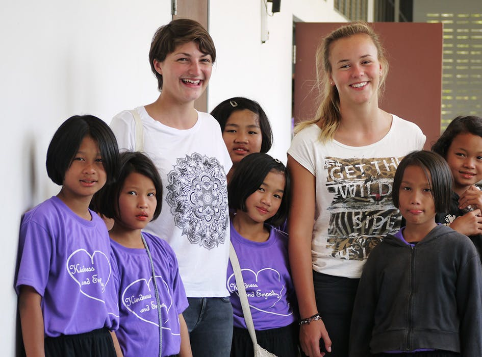 Hill Tribe Support Volunteer Project in Thailand - Hua Hin