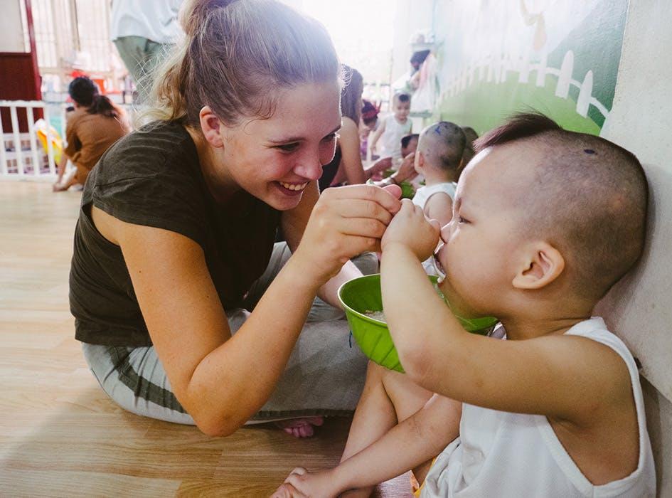 Kindergarten Volunteer Program in Vietnam - Ho Chi Minh City