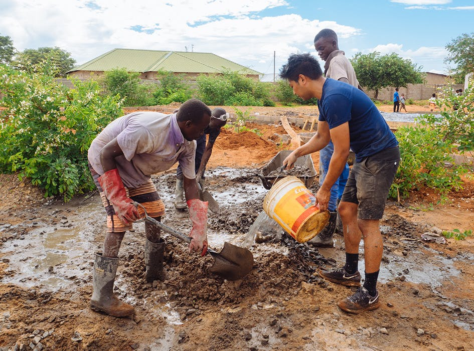 Construction and Renovation Volunteer Project in  Zambia - Livingstone