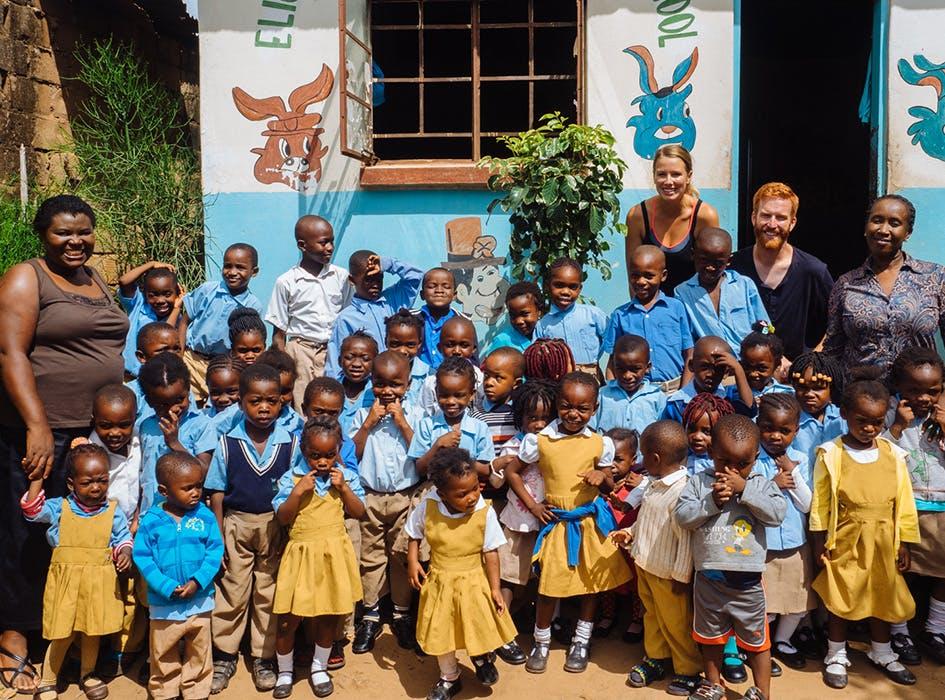 Kindergarten Volunteer Program in Zambia - Livingstone