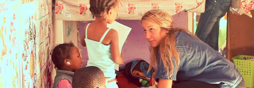 Watch IVHQ volunteers abroad in Cape Town, South Africa