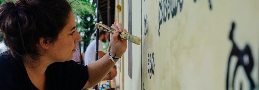 Watch IVHQ volunteers abroad in Sri Lanka