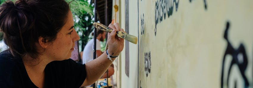 Watch IVHQ volunteers abroad in Sri Lanka