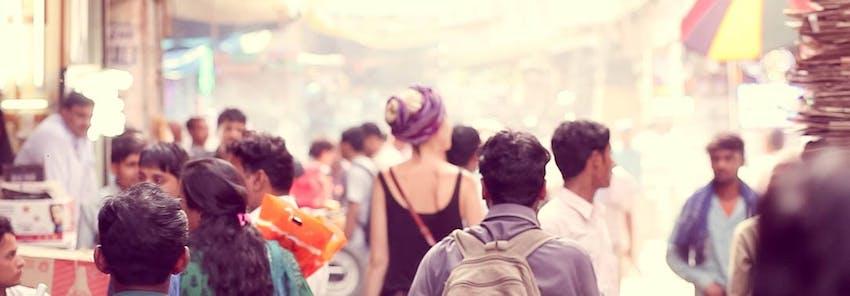 Watch IVHQ volunteers abroad in Delhi, India
