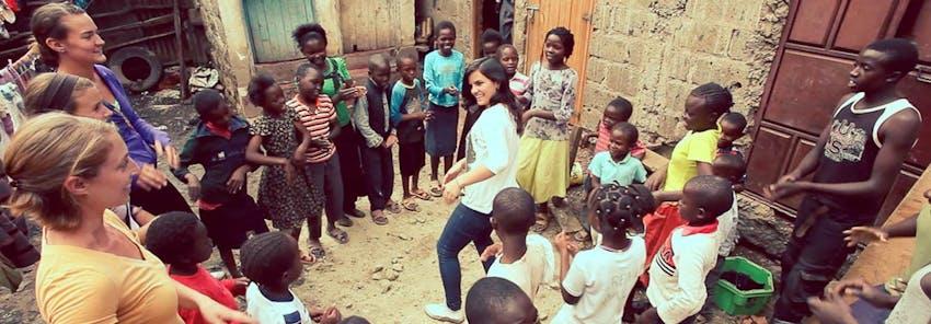 Watch IVHQ volunteers abroad in Kenya