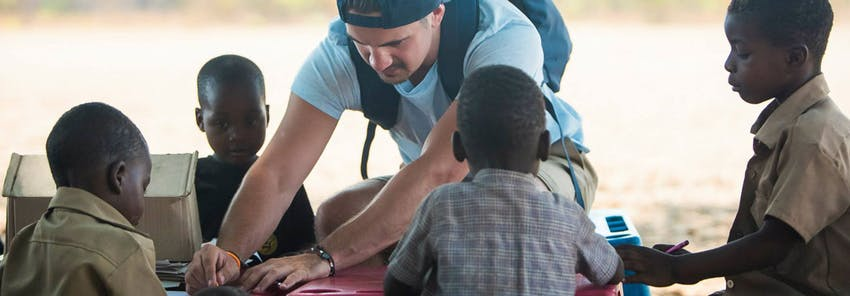 Watch IVHQ volunteers abroad in Victoria Falls