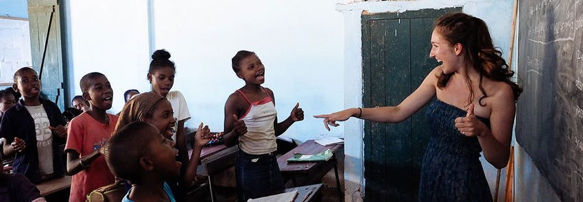 Watch IVHQ volunteers abroad in Madagascar