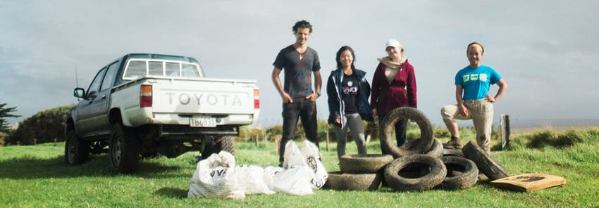 Watch IVHQ volunteers abroad in New Zealand